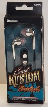 Cool Kustom Earbuds with Microphone, Bluetooth in Fort Campbell, Kentucky