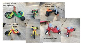 Assorted Ride On Toys in Bellaire, Texas