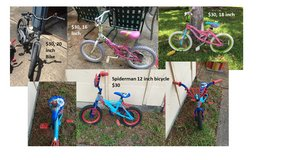 Assorted Kids Bicycles in Bellaire, Texas