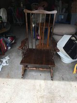 Wooden Rocking Chair in Bellaire, Texas