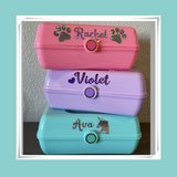 Personalized Mini Caboodle-Like Beauty Case for Little Girls ~All New~ Perfect Gift! in Vacaville, California