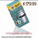 1 1/4 HP Garbage Disposal in Nellis AFB, Nevada