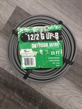 New 12/2 G UP-B Outdoor Wire 25 FT in Cary, North Carolina