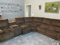 Large 3 piece electronic sectional in Beaufort, South Carolina