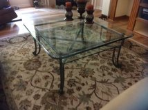 Glass Top Coffee Table & Side Table in Beaufort, South Carolina