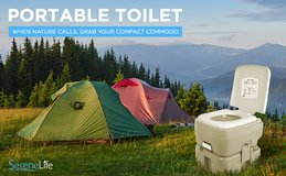 SereneLife Outdoor Portable Toilet - New! in Chicago, Illinois