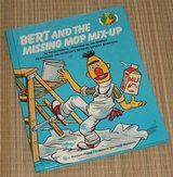 Vintage 1983 Sesame Street Bert & The Missing Mop Mix-Up Featuring The Muppets in Chicago, Illinois