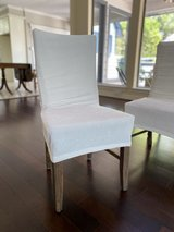 Slip covers for dining chairs in The Woodlands, Texas