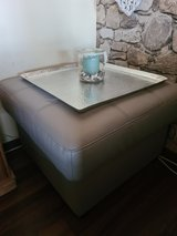 leather ottoman *mint* in bookoo, US