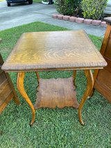 Tiger Oak Lamp Table in Cherry Point, North Carolina