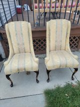 Two Victorian vintage chairs for DIYer in Brookfield, Wisconsin