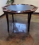 8 Sation Octagonal Wooden Poker Table in Glendale Heights, Illinois