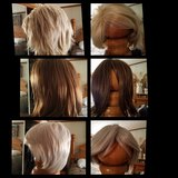 3 Brand new wigs with hair nets & covers in Cochran, Georgia