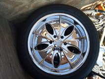 """20"""" rims and tires in Vacaville, California"""