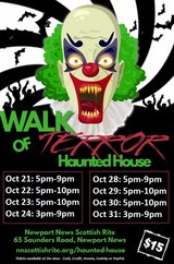 Haunted House Tickets in Fort Eustis, Virginia