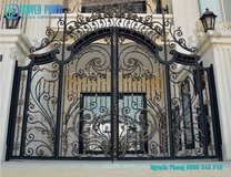 Luxury Wrought Iron Fence Panels For High-class Houses, Villas in Bellaire, Texas
