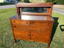 Qtr Oak Mission Sideboard/Buffet 1800's in Cherry Point, North Carolina