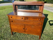 Antique Qtr Oak Mission Sideboard/Buffet 1800's in Cherry Point, North Carolina