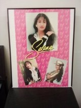 Collectable Poster of Selena in Roseville, California