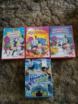 Bob the Builder/Barney/Thomas the Train HOLIDAY DVDS in Travis AFB, California