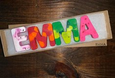 Personalized Crayon Names in Cherry Point, North Carolina