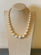 Vintage Napier Gold Tone Faux Pearl Necklace in Okinawa, Japan