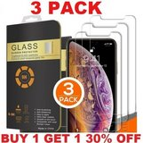 Tempered GLASS Screen Protector For iphone SE (3 pack) *** NEW *** in Fort Lewis, Washington