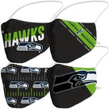 SEATTLE SEAHAWKS Adult Variety Face Covering 4-Pack *** NEW in Fort Lewis, Washington