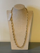 New Monet Gold Tone Link Necklace in Okinawa, Japan