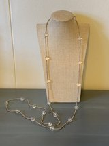 Long Double Strand Glass Seed Bead Necklace in Okinawa, Japan