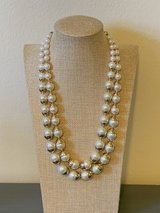 Double Strand Faux Pearl Necklace in Okinawa, Japan