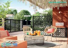 High-end Laser Cut Driveway Gates With Remote Control in Bellaire, Texas