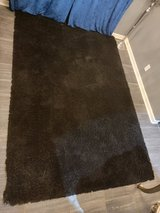 Huge High Quality Black Shaggy Rug in Fort Campbell, Kentucky