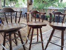 Swivel Bar height stools in Spring, Texas