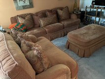 Sofa, love seat and ottoman in Fort Belvoir, Virginia