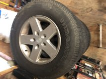 Stock Jeep Wheels and Tires in Fort Campbell, Kentucky