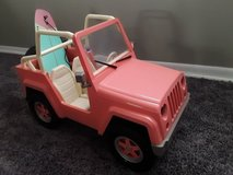 """Jeep & Surf Board for 18"""" Doll in Aurora, Illinois"""