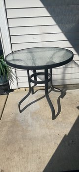 """patio metal high table. 28""""h. in Westmont, Illinois"""
