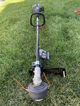 Black Max 2-Cycle 25cc Full Crank 18-inch Straight Shaft Attachment Capable String Trimmer in Vacaville, California