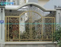 OEM Wholesale Galvanized Wrought Iron Fencing Panels in Bellaire, Texas