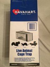 NEW Havahart One-Door Animal Trap for Chipmunk, Squirrel, Rat, and Weasel, X-Small in Warner Robins, Georgia
