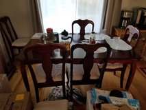 Dining Table with 5 chairs in Vacaville, California