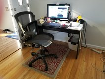 computer table and swivel chair in Vacaville, California