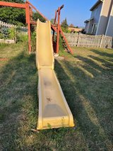 Slide for play ground with water slide in Chicago, Illinois