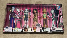 We are Monster High Student Disembody Council 5 Doll Set New in Vacaville, California