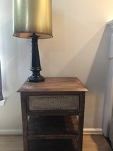 Table and lamp in Fort Belvoir, Virginia