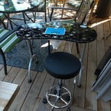 manicure tech table and stool in Fort Campbell, Kentucky