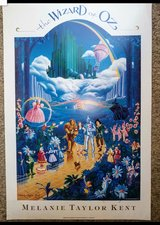 Wizard of Oz Limited Edition SIGNED by MELANIE KENT Serigraph in Camp Pendleton, California