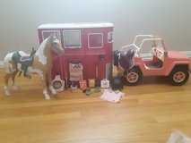 """Horse Trailer with Horse for 18"""" Doll in Aurora, Illinois"""