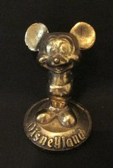Vintage Disney brass Mickey Mouse Paperweight in Fort Campbell, Kentucky